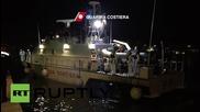 Италия: Бреговата охрана прехвърля над 300 мигранти на брега на Лампедуза