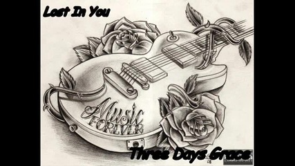 Превод !!! Three Days Grace - Lost In You