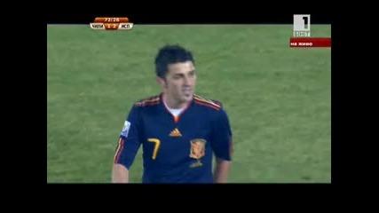 Чили - Испания 25.06.2010 второ полувреме част 3