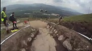 Helmet Cam from Fort William 2010 with Scott11 - Mtb - Freecaster.tv powers extreme.com