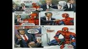 Спайдърмен спасява Обама