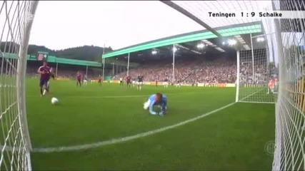 Тенинген 1-11 Шалке 04( всички голове)