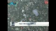 Андерлехт спечели с 2:0 в Брюж, бой със снежни топки спря мача