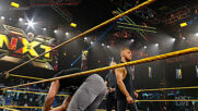 Pete Dunne & Oney Lorcan confront Johnny Gargano & Austin Theory: WWE NXT, June 22, 2021