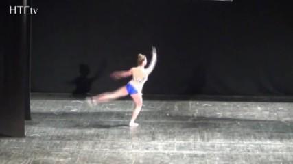 Кристиана -танц с лента