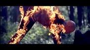 Страхотна огнена акробатика- Damien Walters