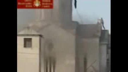 Косово - Албанци Разрушават Църква