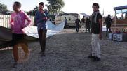 France: Muslims stuck at Calais 'Jungle' refugee camp celebrate Eid al-Adha
