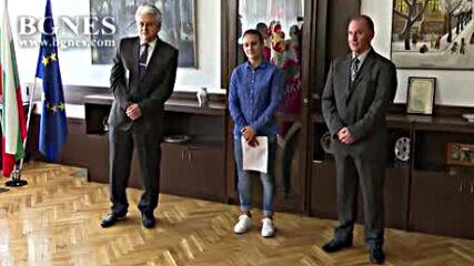 Златната ни медалистка Ивет Горанова се присъедини към редиците на МВР