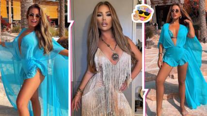 Секси и провокативна: Гери-Никол пръска страсти в Дубай