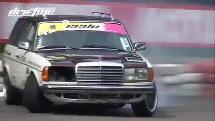 Легендарният Дизел Mercedes W123 + Scania турбина