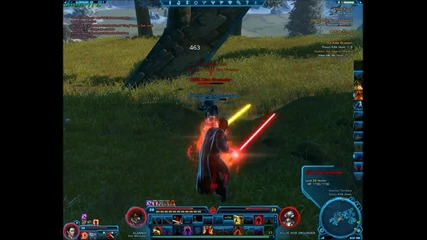 Star Wars The Old Republic High level Sith Marrauder gameplay 1-2