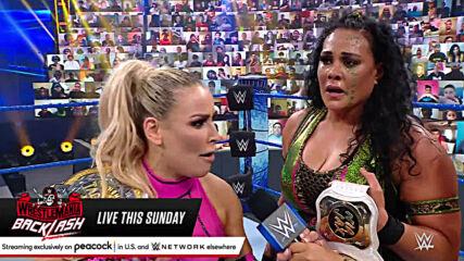 Tamina & Natalya vs. Nia Jax & Shayna Baszler – WWE Women's Tag Team Title Match: SmackDown, May 14, 2021