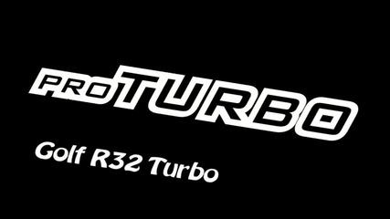 голф 4 показва възможностите на Протурбо двигателчето си (пет'стин и де'есе коня) 590hp