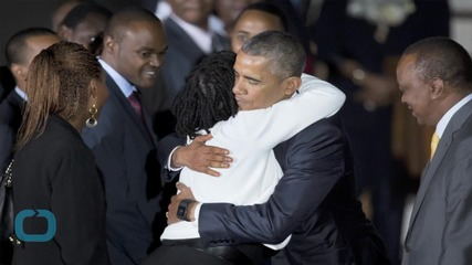 Obama Meets With Extended Family on First Night in Nairobi
