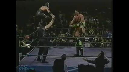 911 & Rey Misterio, Jr. vs. The Eliminators - Ecw House Party 1996