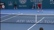 Gilles Simon - Grigor Dimitrov highlights (1r) Brisbane 2016