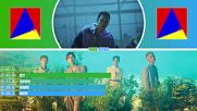 Shinee - Good Evening Line Distribution Color Coded -