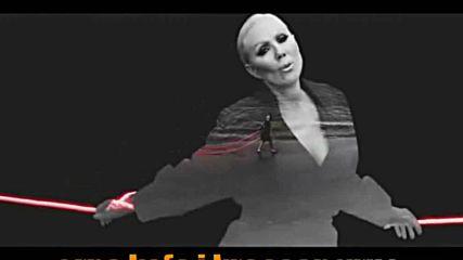 Lepa Brena - A kako cu ja - demo karaoke