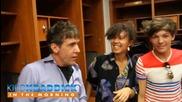 One Direction - Зад сцената за Kiddnationtv