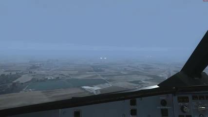 Landing at Mallorca Airport!