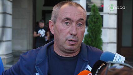 Станимир Стоилов след ЦСКА - Левски