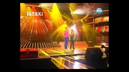 Ангел и Моисей взривиха всички с изпълнението си - X - Factor България 27.09.11