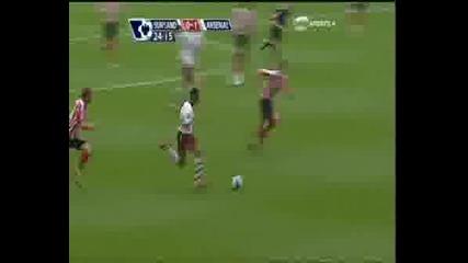 Teo Walcott Vs Sunderland