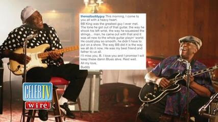 Stars React to Passing of Blues Legend B.B. King