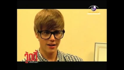 Justin Bieber говори Японски ;d