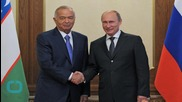 Veteran Uzbek Leader Re-elected in Vote OSCE Brands Undemocratic