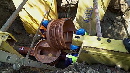 Инсталиране на шахта Pro съвместно с Вик Благоевград