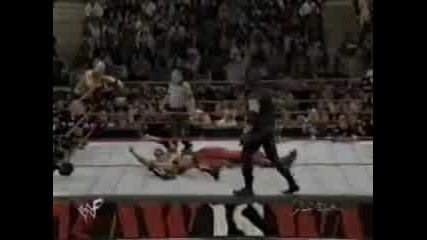 12.10.98 - The Undertaker & Kane vs. Stone Cold & The Rock