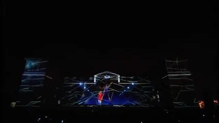Зверска 3d прожекция на Adidas