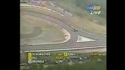 Schumacher Vs Hill - Belgian Gp Spa 1995
