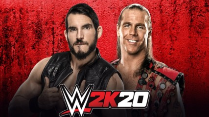 Shawn Michaels vs. Johnny Gargano: WWE 2K20 match simulation
