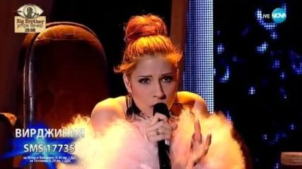 Вирджиния изпълни ''Stone Cold'' с ''разбито сърце'' - X Factor Live (12.11.2017)
