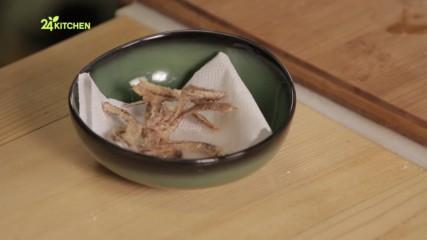 Как се прави чипс от рибени кости - Давид Скоко