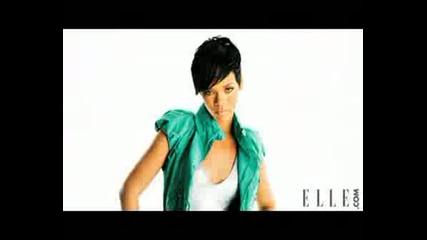 Rihanna - Зад Сцените На Фотосесията За Списание Elle