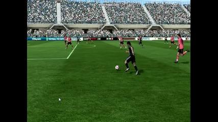 Fifa 11 Луд защитник си вкарва автогол !