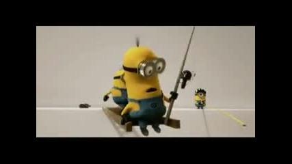 Despicable Me Minion Finale Scane