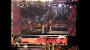Wwe Raw след ефир 6.21.10