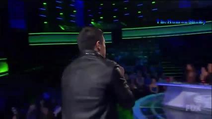 Страхотно изпълнение ~ Stefano Langone - Just the way U are ~ American Idol 2011