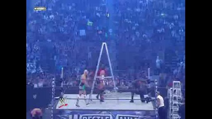 Money in the Bank Ladder Match - wrestlemania 25