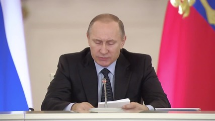 Russia: Putin addresses State Council meeting on improving education system