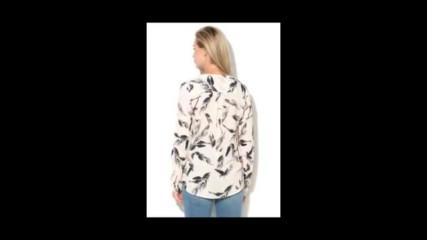 Haily`s Hailys, Блуза с флорален десен и кръстосани презрамки