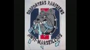 Tifos Parisiens - Anti Marseillais