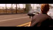 Това се казва драг ! Dodge Charger вдига гуми.