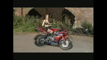 Мацка Върти Гуми С Yamaha R1