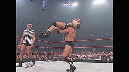 Goldberg vs. Ric Flair – No Disqualification Match: Raw, Aug. 11, 2003 (Full Match)